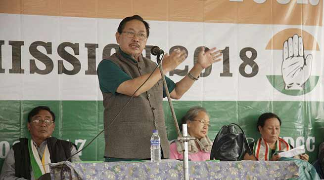Regional parties fails to defend the people of Nagaland from communal forces- K Therie