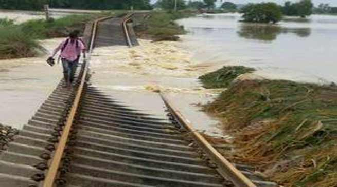 NF Railway incurs Substantial Loss due to Flood