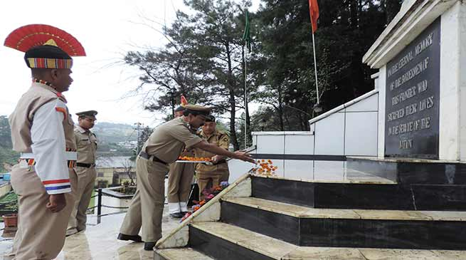 BSF Meghalaya Frontier Organises Police Commemoration Day