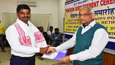 Photo of Assam: NF Railway staff awarded for exceptional devotion towards duty