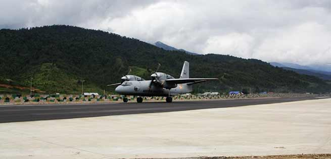 the ongoing massive IAF exercise 'Gaganshakti-2018', fighters, helicopters and transport assets have been deployed at the Advanced Landing Grounds (ALG).