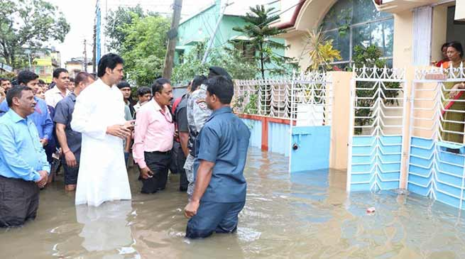Tripura: Heavy rains halt life, triggers landslides, 4 killed