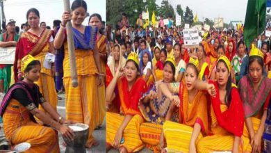 Photo of Assam: National Highway Blockade by ABSU in support of Bodoland – 2nd day