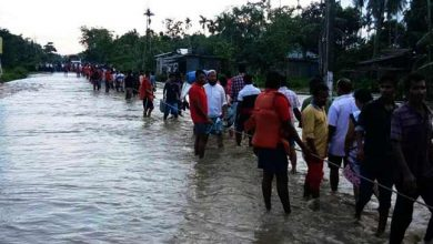 Photo of Assam flood: flash flood hit Nowboicha in Lakhimpur, 15 villages inundated