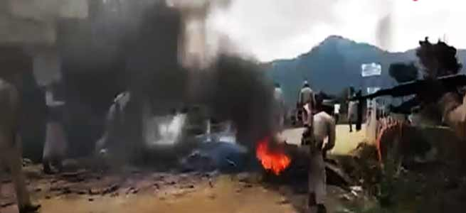 Manipur- Over 80 Houses Razed in Forest Area