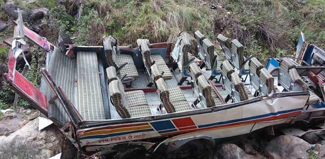 Uttarakhand: 48 killed, 10 injured after bus falls in to gorge