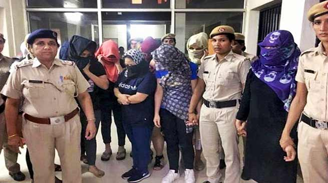Sex Trade: 15, including, foreigners, Manipuris arrested from Gurgaon spa