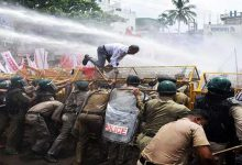 Photo of Tripura : Left protest against alleged anti-farmer policy of the central government