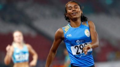 Photo of Asian Games : Hima Das wins Silver, makes national record