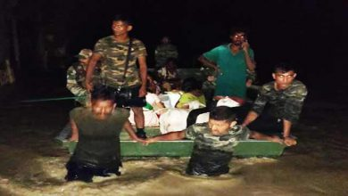Photo of Assam:Flood relief operation by the Army in Sibsagar