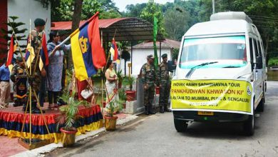 Photo of Assam: Army flag off National Integration Tour for Girls Student