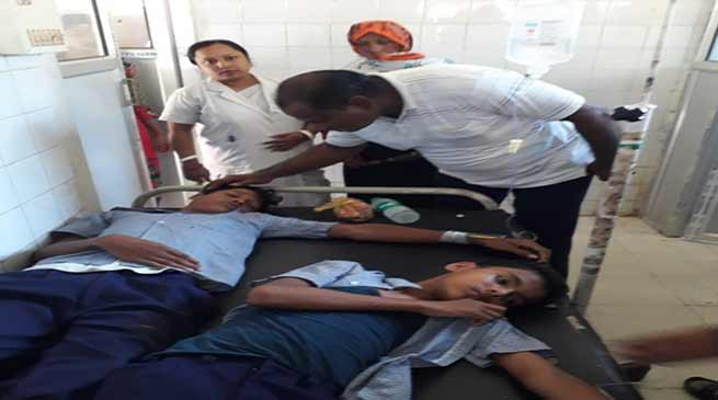 assam  25 students taken ill after mr vaccination  district administration orders probe