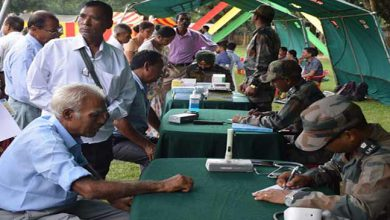 """Photo of Assam: Ex servicemen Rally to commemorate """"year of the disabled soldiers"""" at Jagiraod"""