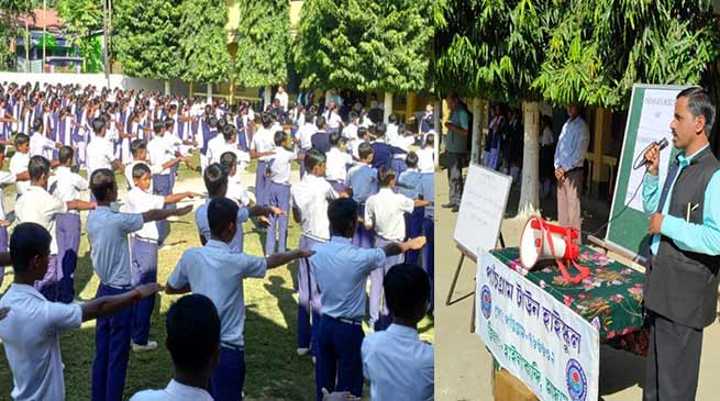 Assam:Constitution Day observed in Hailakandi