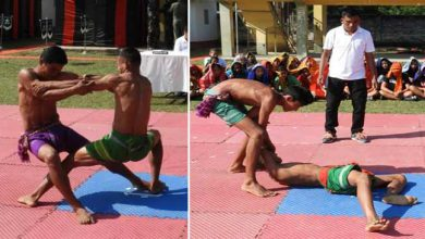 Photo of Assam: Army promotes Bodo indigenous sporting event 'Khomlainai'