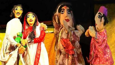 Photo of Assam's puppet show performed in Andaman's port blair