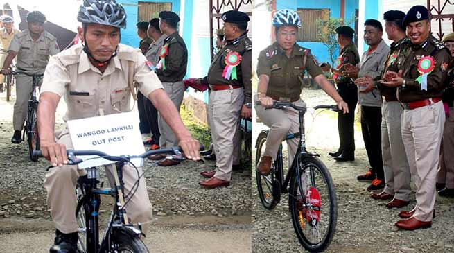 Manipur: 'Cycle Patrol Unit' for Manipur police