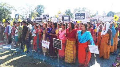 Photo of Assam: 3 Hrs Dharna in support of Bodoland