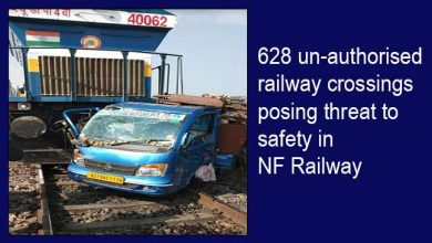 Photo of Assam:628 un-authorised railway crossings posing threat to safety in NF Railway