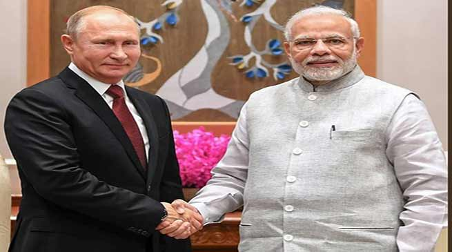 PM Narendra Modi To Be Honoured With Russia's Highest Civilian Award