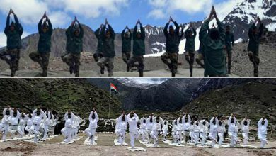 Photo of International Yoga Day: Indian and Chinese Army jointly celebrates along international border