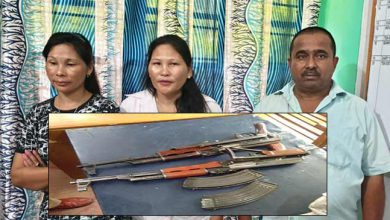 Photo of Assam: 3 including 2 women arrested with AK-56 Rifle