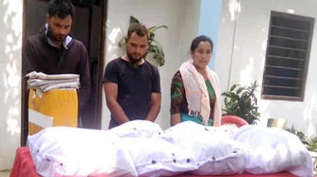 Manipur: police seized brown sugar worth of Rs 100 crore