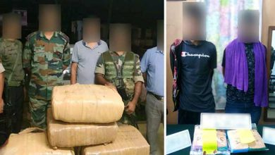 Photo of Manipur: Assam Rifles seized huge quantities of drugs and contraband items