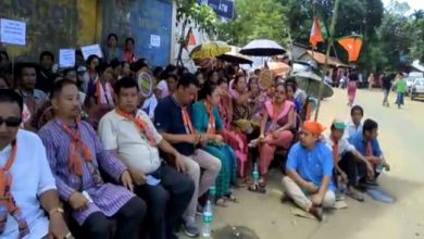 Photo of Mizoram: BJPprotest against Chakma Council's new land law