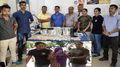 Photo of Assam: 1.14kg heroin and Rs. 19.55 lacs cash seized in Dibrugarh