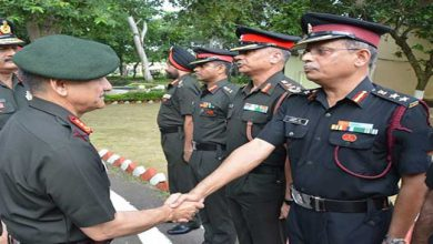 Photo of Army's Eastern Command chief visits Panagarh Military Station