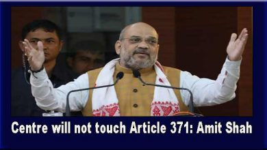 Photo of Centre will not touch Article 371: Amit Shah
