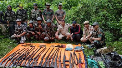 Photo of Assam: Huge Cache Of Arms, Ammunition, explosive recovered In Panbari