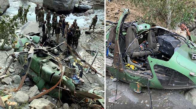 Army's Advanced Light Helicopter makes emergency landing in poonch