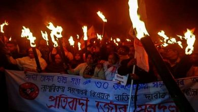 Photo of Assam: bandh against CAB passed off with violence at several places